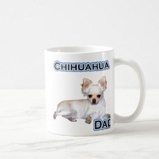 Papá 4 de la chihuahua taza