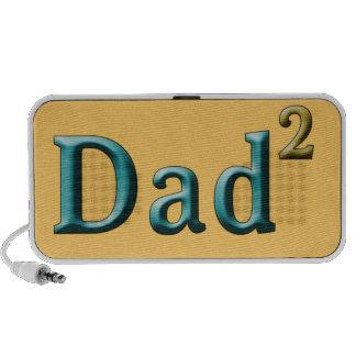 Papá a los regalos del día de padre del segundo sistema altavoz