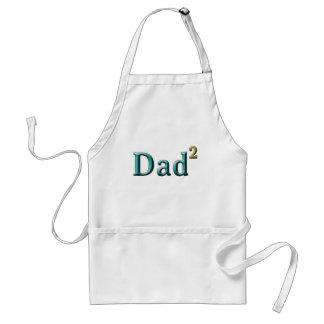 Papá a los regalos del día de padre del segundo delantal
