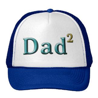 Papá a los regalos del día de padre del segundo gorra