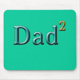 Papá a los regalos del día de padre del segundo mouse pads