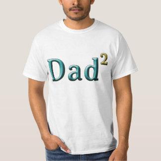 Papá a los regalos del día de padre del segundo playera