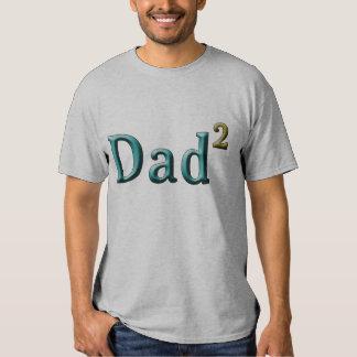 Papá a los regalos del día de padre del segundo polera