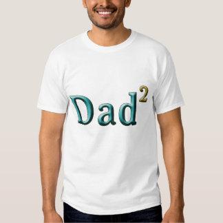 Papá a los regalos del día de padre del segundo poleras