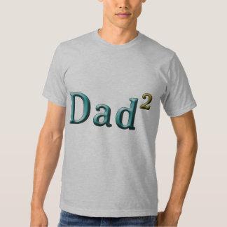 Papá a los regalos del día de padre del segundo remeras