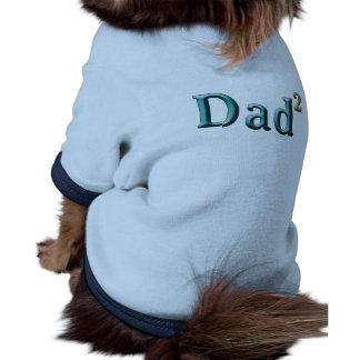 Papá a los regalos del día de padre del segundo ropa para mascota