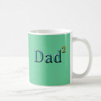 Papá a los regalos del día de padre del segundo taza