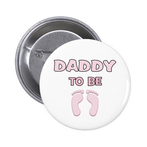 Papá a ser (chica) pins