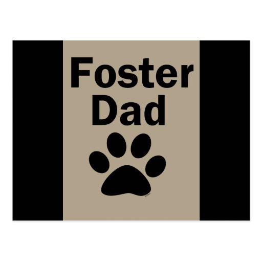 Papá adoptivo postal
