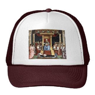 Papa Aeneas Piccolomini Canonize Catherineien Gorra