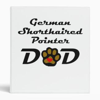Papá alemán del indicador de pelo corto