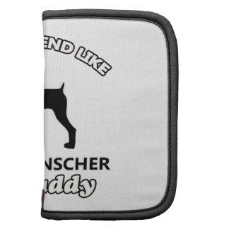 Papá alemán del perro del Pinscher