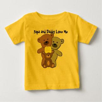 Papa and Daddy Love Me Tee Shirt