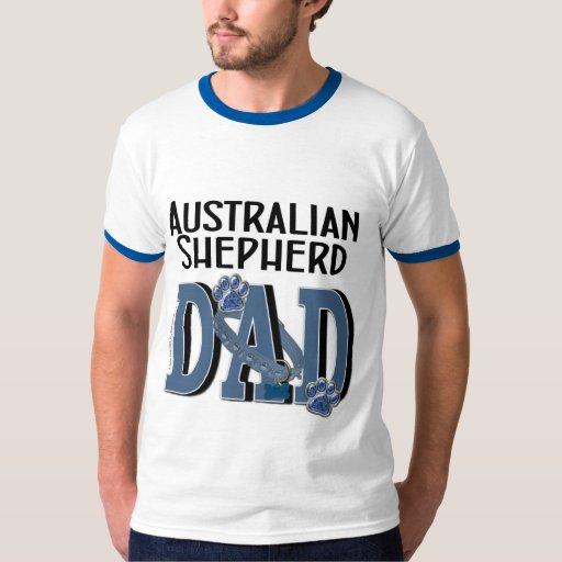 PAPÁ australiano del pastor Remera