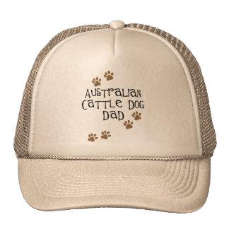 Papá australiano del perro del ganado gorras
