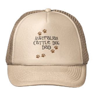 Papá australiano del perro del ganado gorro