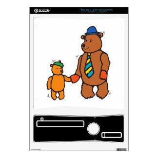 Papa bear and son cartoon skins for xbox 360 s