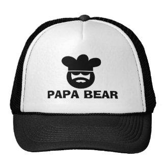 Papa bear BBQ hat for men