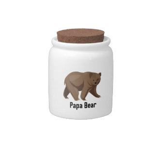 Papa Bear Candy Dish
