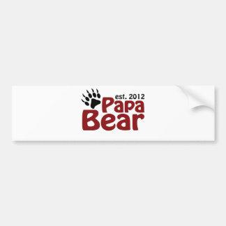 papa bear claw 2012 bumper stickers