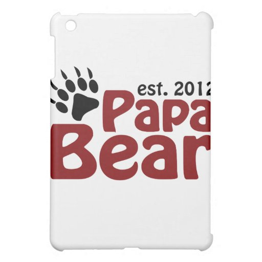 papa bear claw 2012 cover for the iPad mini