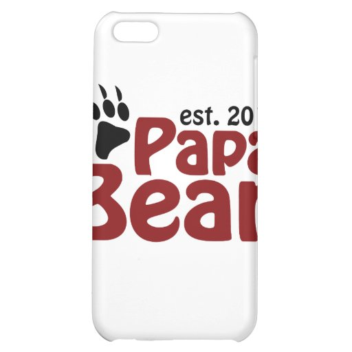 papa bear claw 2012 iPhone 5C covers