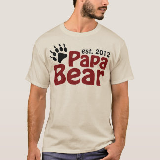 papa bear claw 2012 T-Shirt