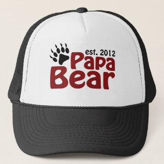 papa bear claw 2012 trucker hat
