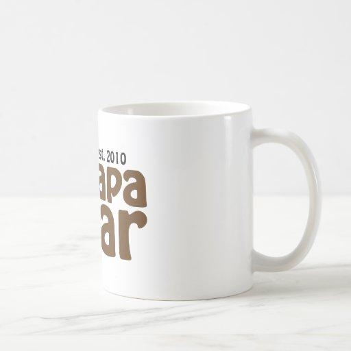 papa bear claw est 2010 mug