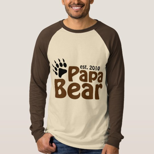 papa bear claw est 2010 T-Shirt