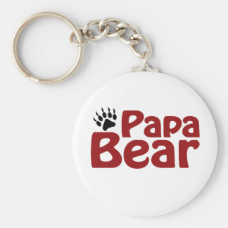 Papa Bear Claw Key Chain