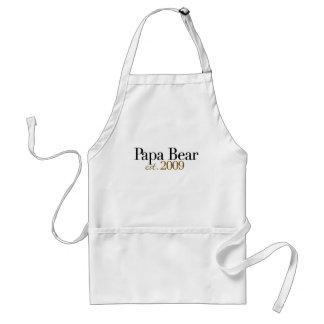 Papa Bear Est 2009 Apron