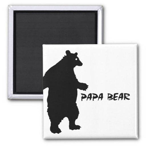 Papa Bear Fridge Magnet