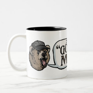 Papa Bear Go ask Mother Gear Two-Tone Coffee Mug