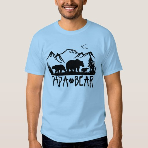Papa Bear- Great Outdoors TShirt