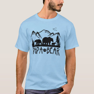 Papa Bear- Great Outdoors TShirt