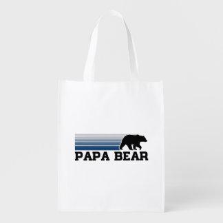 Papa Bear Grocery Bag