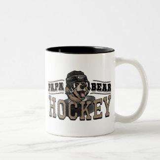 Papa Bear Hockey by Mudge Studios Coffee Mugs