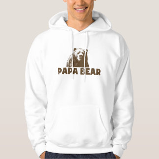 Papa Bear Hooded Sweatshirt
