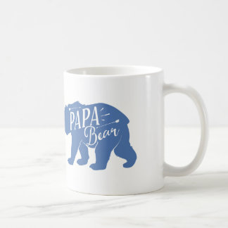 Papa Bear Mug, Papa Bear Cup, dad or papa gift, Coffee Mug
