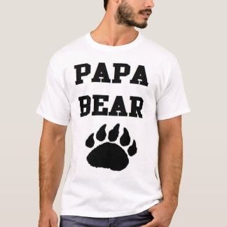 PAPA BEAR NEW DAD NEW FATHER BABY DADDY T-Shirt