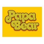 Papa Bear Postcard