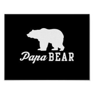 Papa Bear Poster