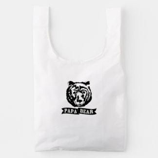 Papa Bear Reusable Bag