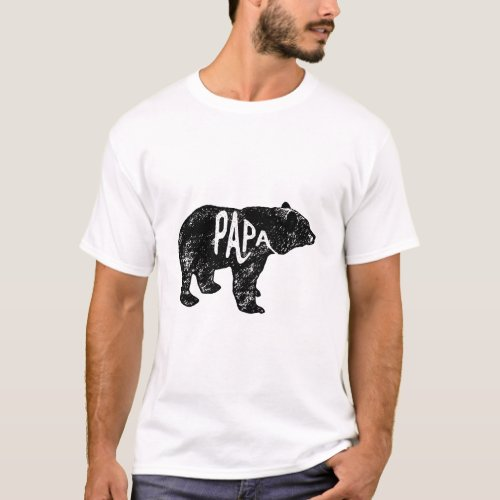 Papa Bear Tee Matching Sets