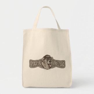 Papa Bear Wear Logo Tote Bags