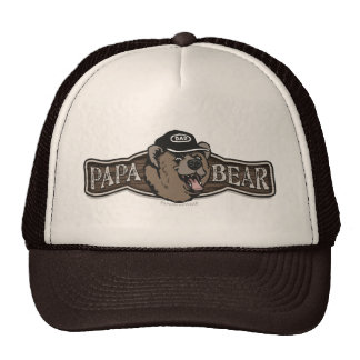 Papa Bear Wear Logo Mesh Hats