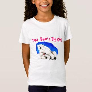 Papa Bear's Big Girl T-Shirt