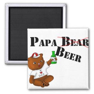 Papa Beer Magnet