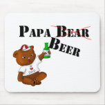 Papa Beer Mouse Pad